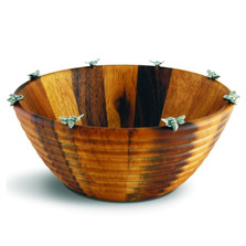 Bee Salad Serving Bowl | Vagabond House | N220BL-2
