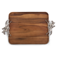 Horse and Jockey Wood Tray | Vagabond House | H214DL-1
