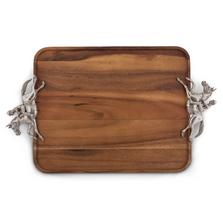 Horse and Jockey Wood Tray | Vagabond House | H214DL-1