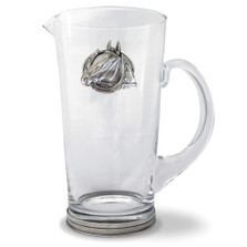 Horse Glass Pitcher | Vagabond House | H457-EH