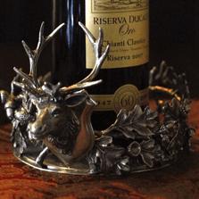 Deer Wine Coaster   Vagabond House   B113B-1