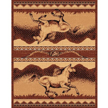 Wild Horse Lodge Area Rug | Persian Weavers | L-373