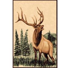 Elk Lodge Area Rug | Persian Weavers | L-378