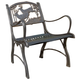 Deer Cast Iron Chair   Painted Sky   PSPC-IDR-200BR