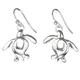 """Sea Turtle Earrings """"Ocean Traveler""""   Big Blue Jewelry   Roland St. John   SSE11D"""