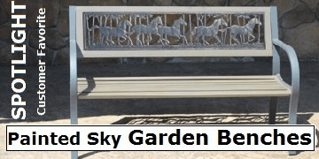 Painted Sky Benches