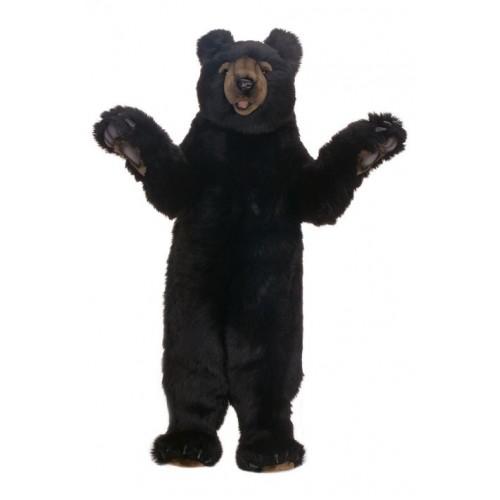 Black Bear Honey Large Stuffed Animal Plush Black Bear Hansa Toys
