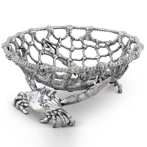 Crab And Net Fruit Basket