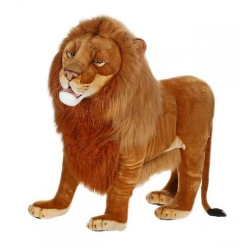 Lion Stuffed Animal Ride On Male Lion Hansa Toys