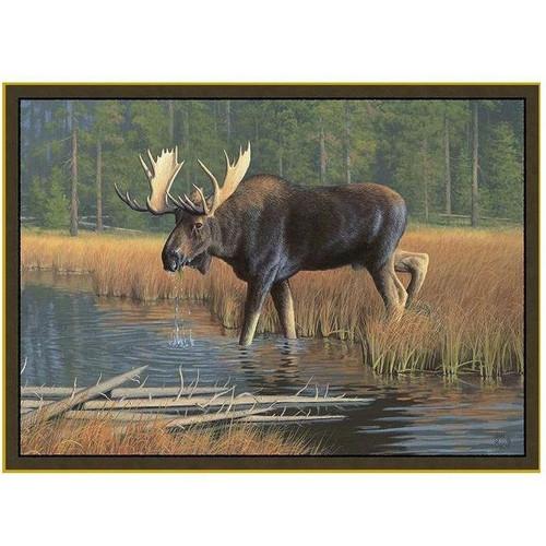 Moose Area Rug