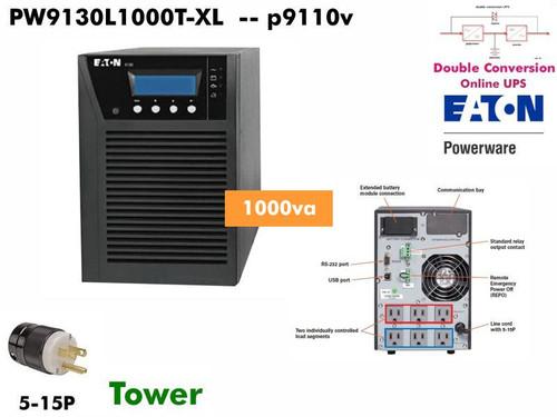 PW9130i1500T-XL ~ 1500va Powerware Online 9130 (230v -Tower