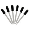 Glass Dropper with Rubber Bulb - set of 6