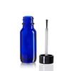 1/2 Ounce Cobalt Blue Boston Round Bottles w/ Brush Cap