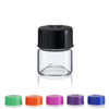 Wide Mouth Vial 23 x 27 mm - Concave Bottom - Includes Cap!