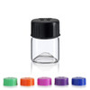 Wide Mouth Vial 23 x 30 mm - Concave Bottom - Includes Cap!