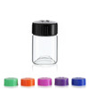 Wide Mouth Glass Vial w/ Cap - 27 x 40 mm