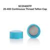 20-400 Cap w/ Teflon (PTFE) Liner
