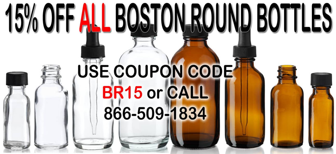 15% Off All Boston Rounds