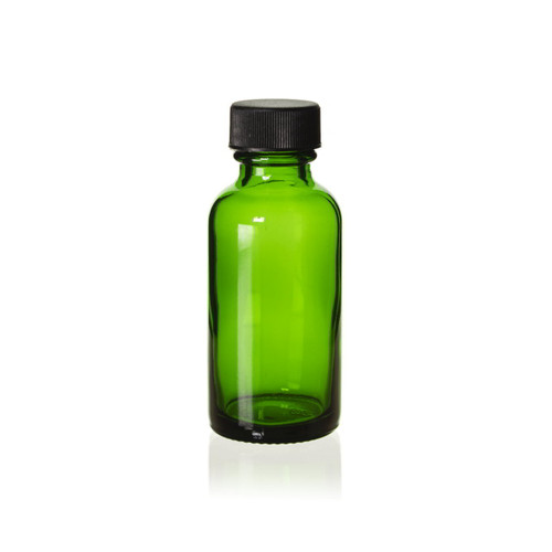 1 Ounce Emerald Green Boston Round w/ Cap
