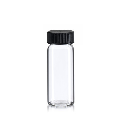 6 Dram  Borosilicate Glass Vial - Includes Cap