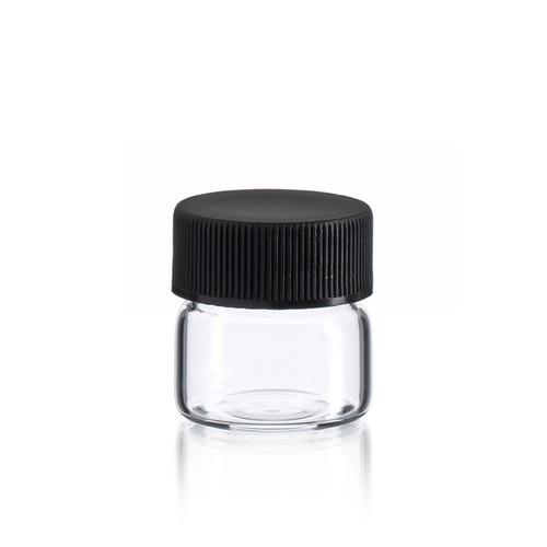 Flat bottom wide mouth vial - 26 x 26 mm - US Made