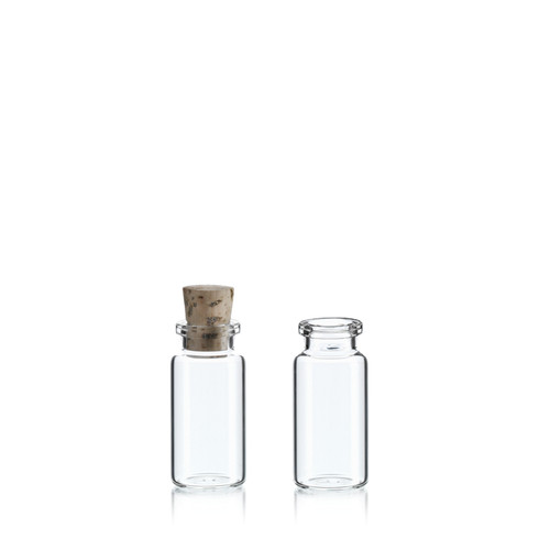 10 ml Serum Bottle w/ Cork