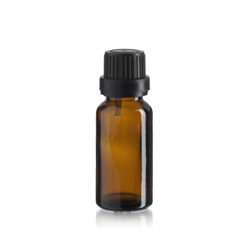 20 ml Amber Euro Dropper Bottle - Pkg. of 156