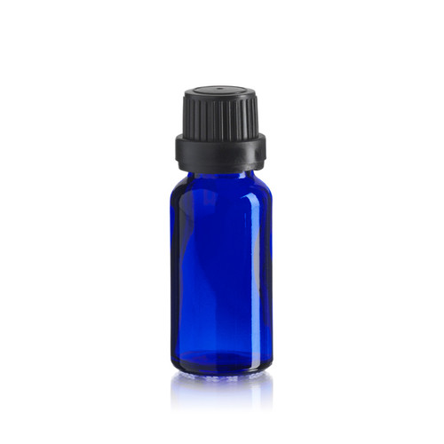 20 ml Cobalt Blue Euro Dropper Bottle - Pkg. of 156