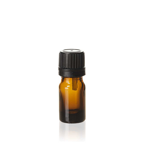 5 ml Amber Euro Dropper Bottle