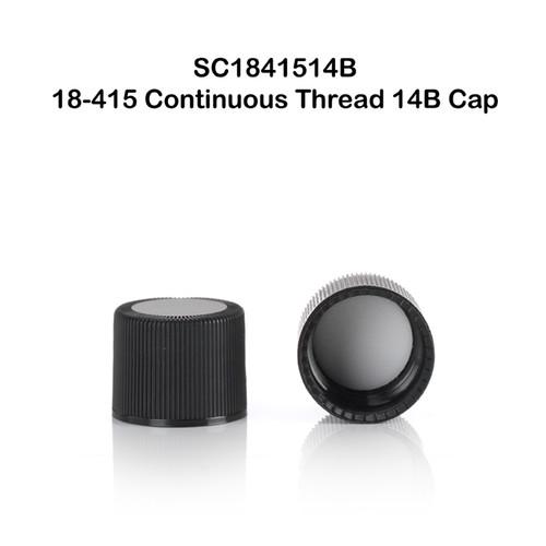18 - 415 Continuous Thread Closure w/ 14B Rubber Liner