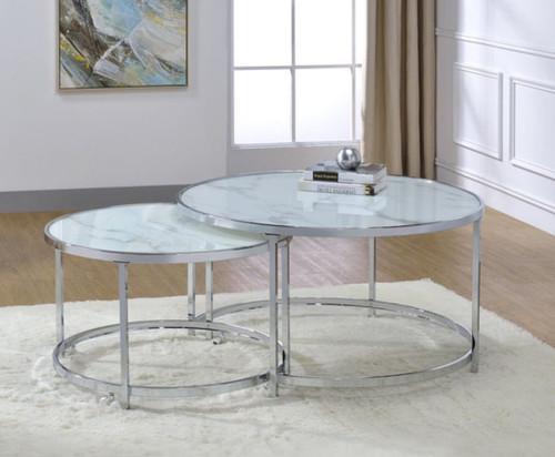 2 Pc Nesting Table Set - 721528