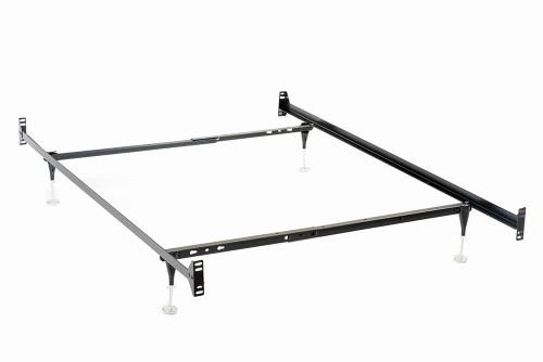 Bed Frames - Twin/full Bed Frame Black - 9602TF