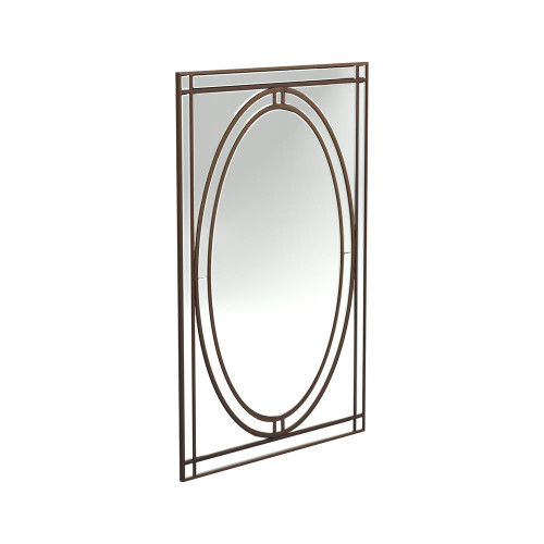Beveled Edge Wall Mirror Silver - 962889