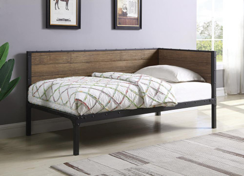 Getler Daybed - Getler Daybed Weathered Chestnut And Black - 300836