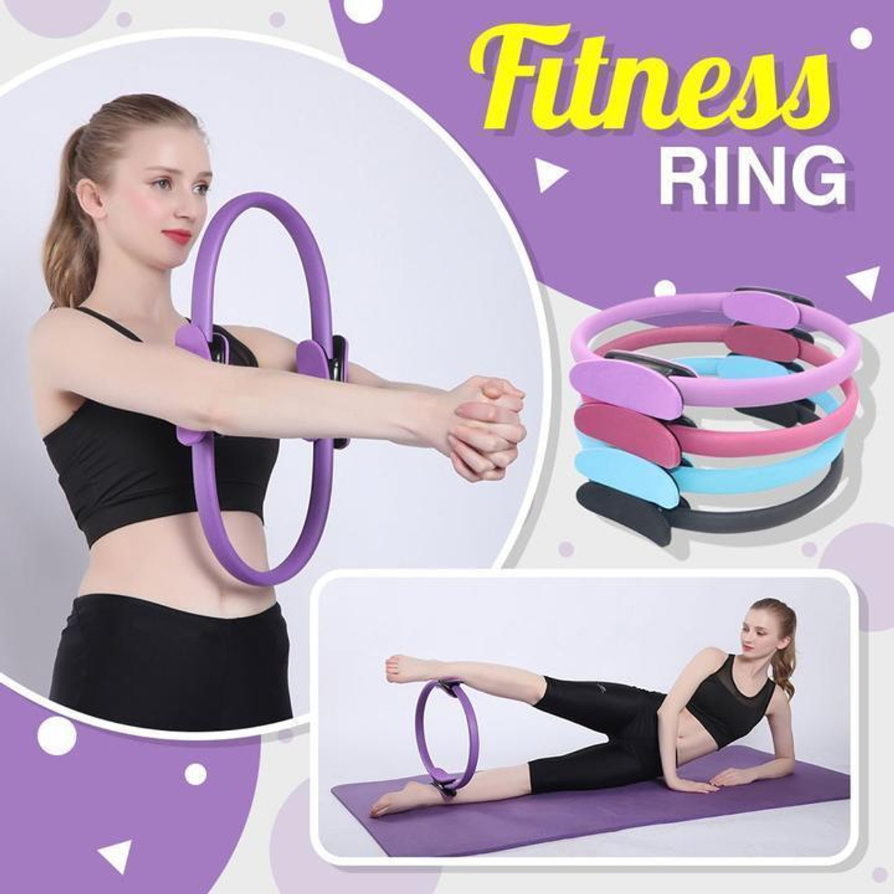 Pilates Training Fitness Ring
