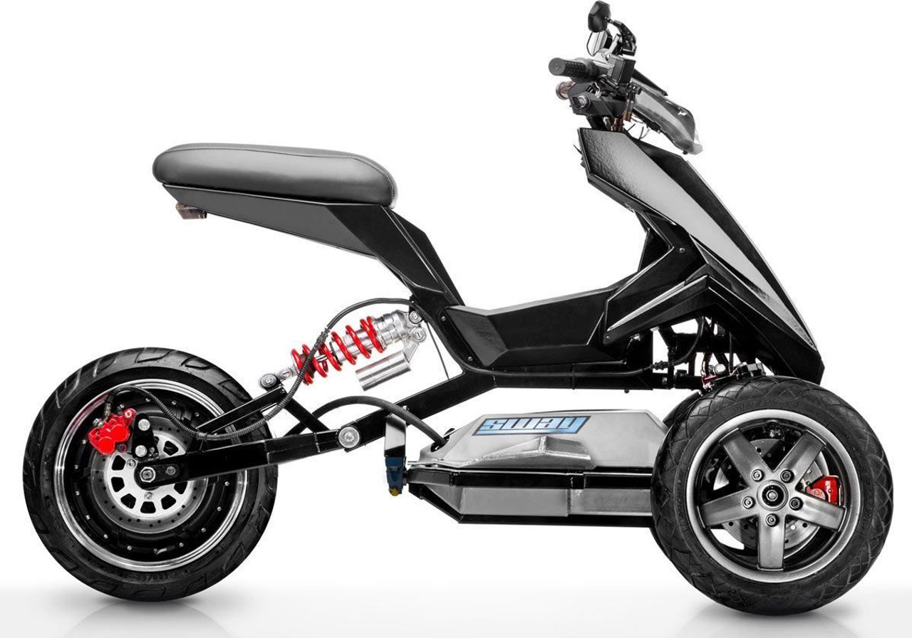 All-Electric Tilting Trike Scooter (FREE WORLDWIDE SHIPPING)