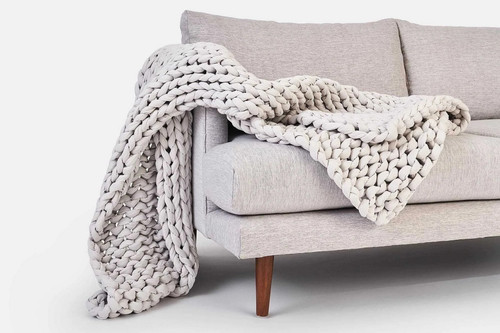 Chunky Knit Blanket (FREE SHIPPING)