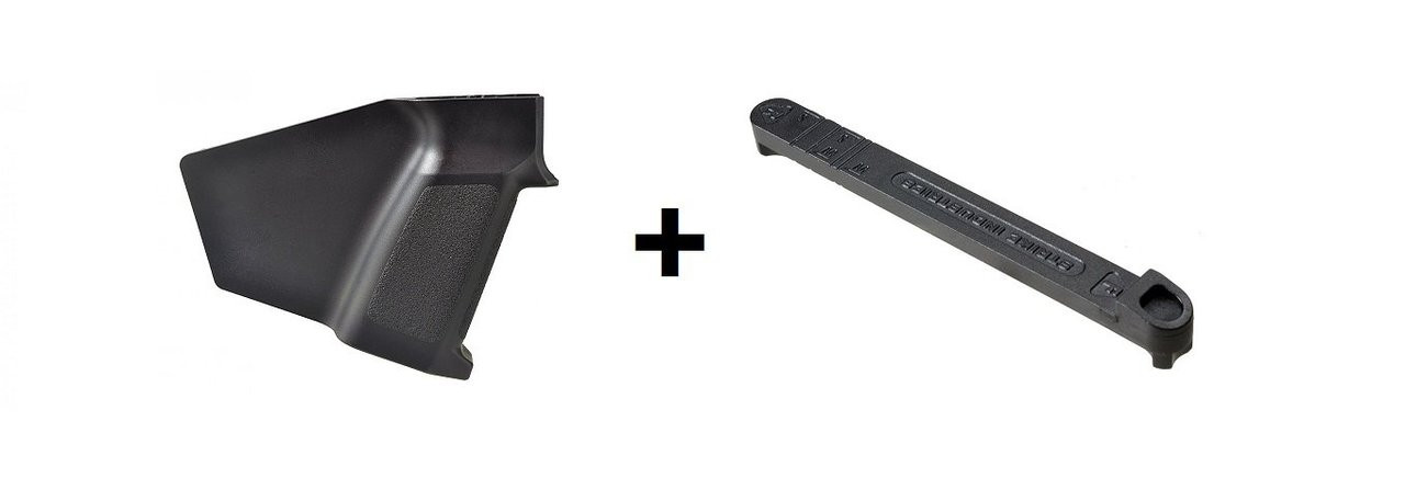 Strike Industries AK Simple Featureless Grip with Stock Stop Combo