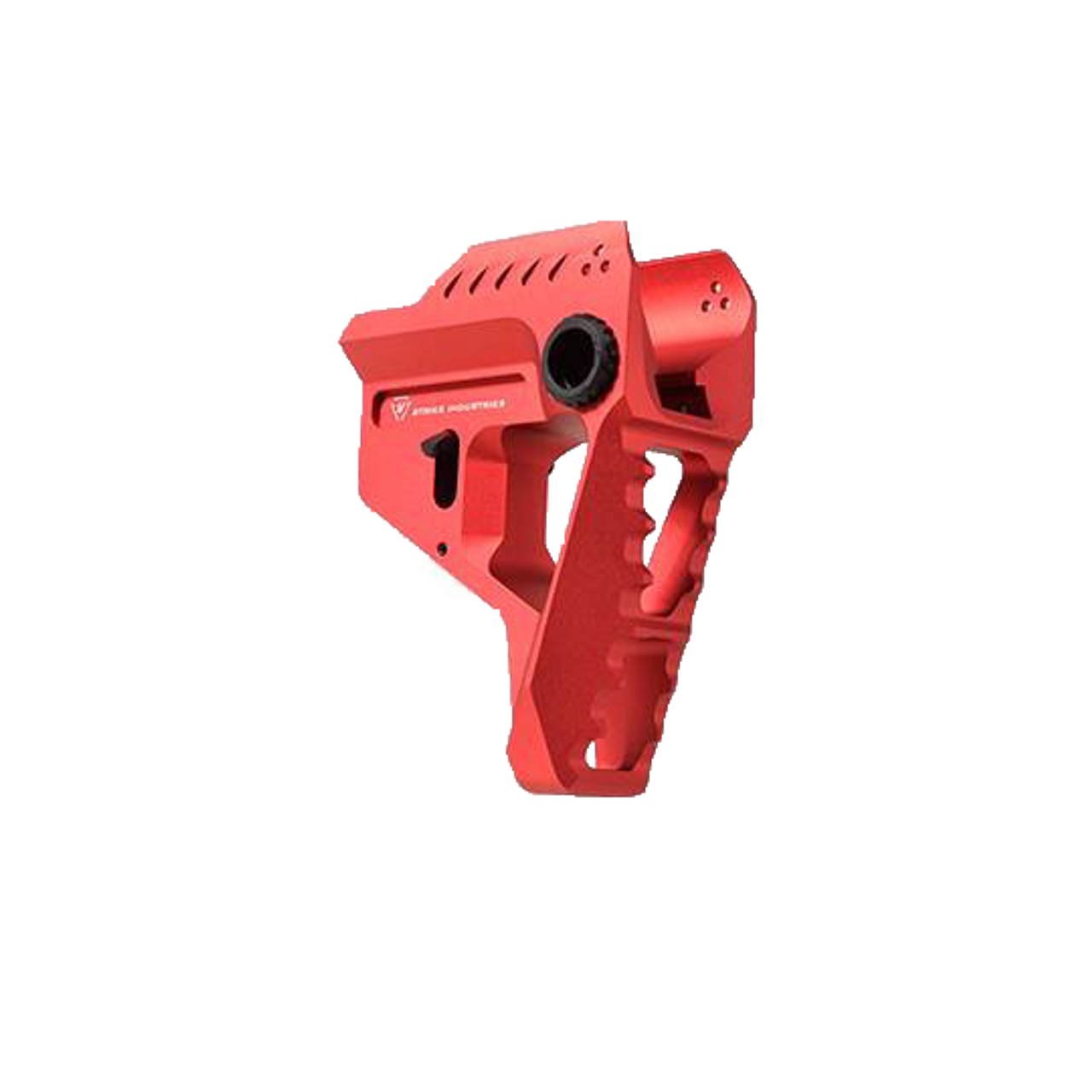 Strike Industries Pit Viper Stock in Red