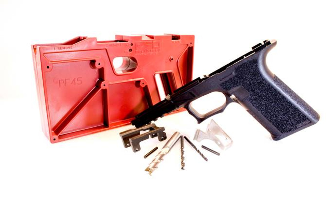 PF45 Full Size Glock 21/20 Compatible 80% Pistol Frame Kit