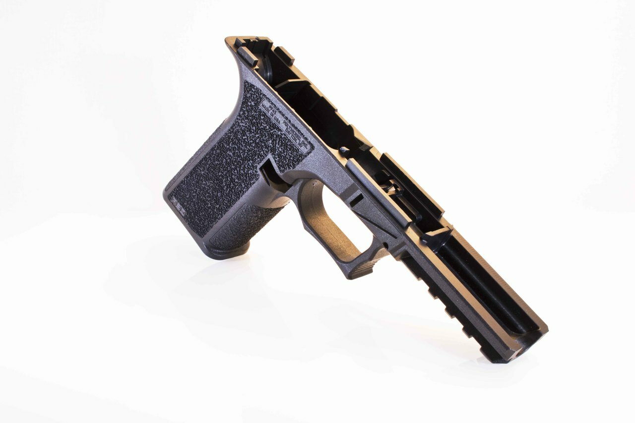 PF45 Full Size Glock 21/20 Compatible 80% Pistol Frame Kit - Side