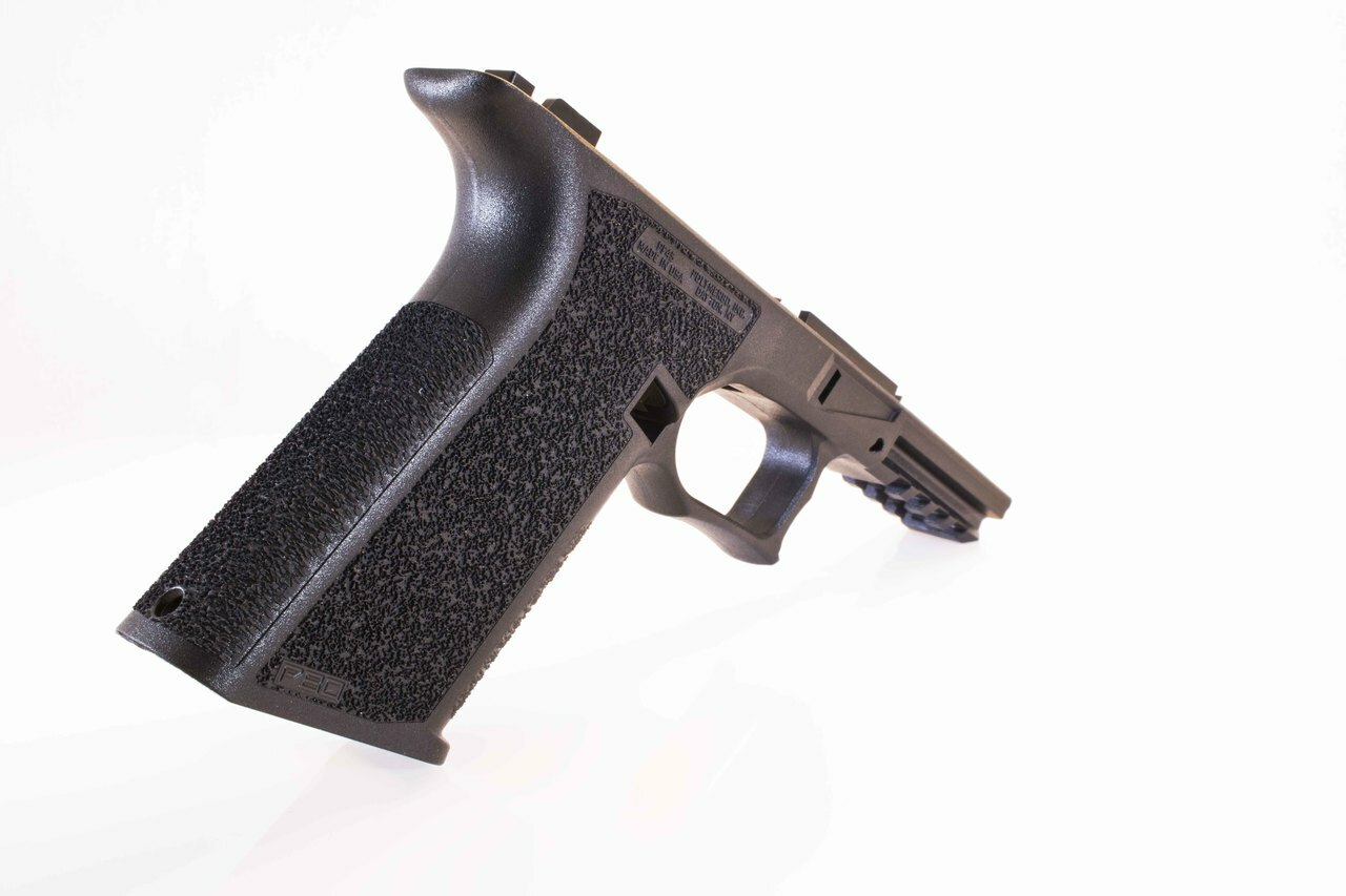 PF45 Full Size Glock 21/20 Compatible 80% Pistol Frame Kit - Rear