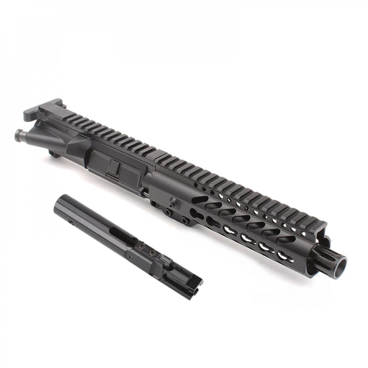 """MDX Arms AR-9mm Pistol 7.5"""" 1:10T with 7' Super Slim Mlok HG with bolt"""