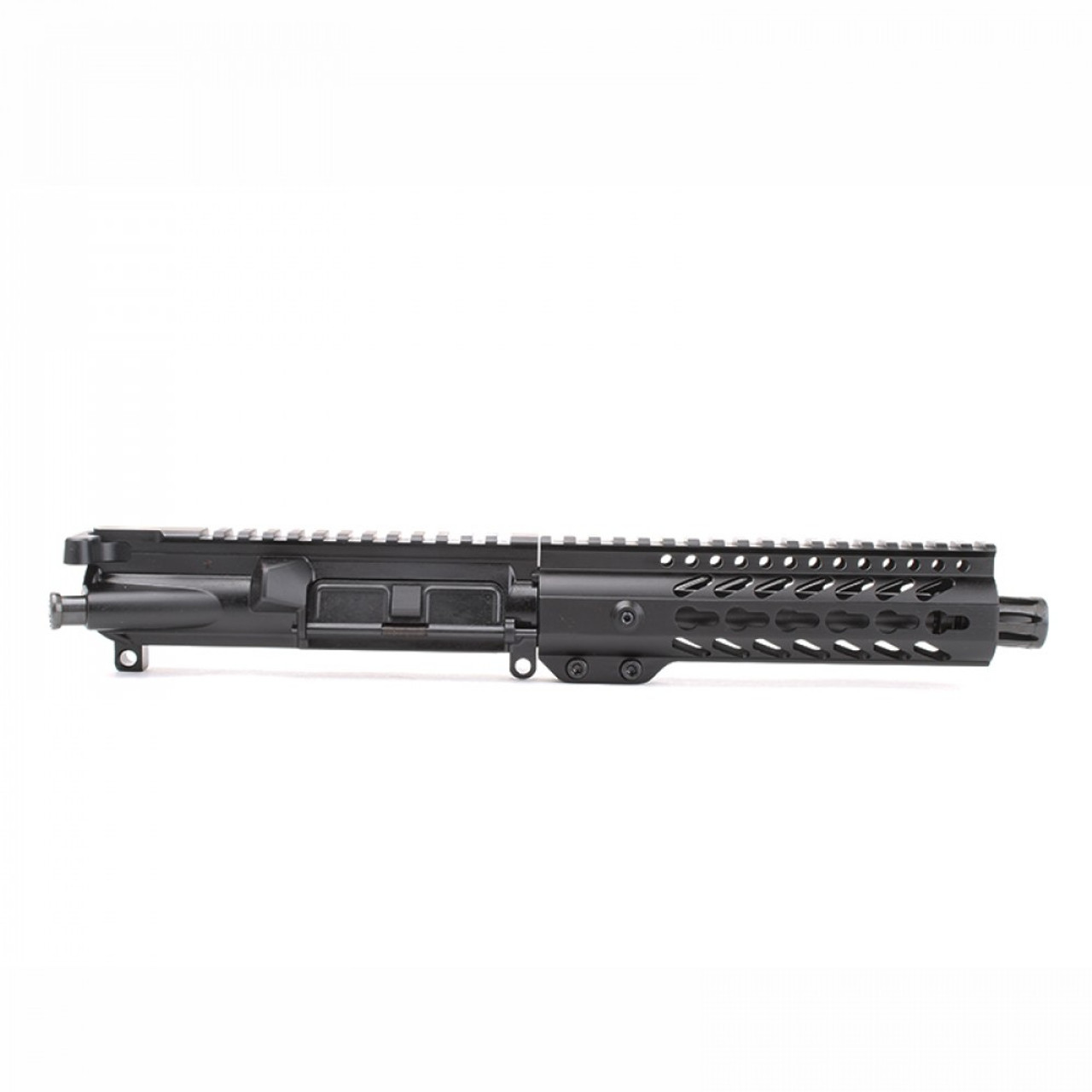 """MDX Arms AR-9mm Pistol 7.5"""" 1:10T with 7' Super Slim Mlok HG side view"""