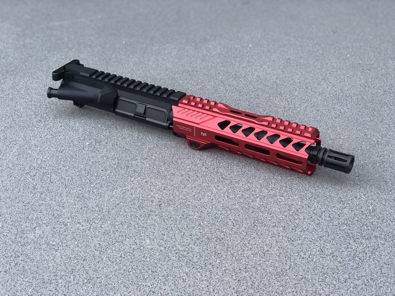 """MDX Arms Red Striker .223/556 Complete Upper Assembly - 7.5"""" Right"""