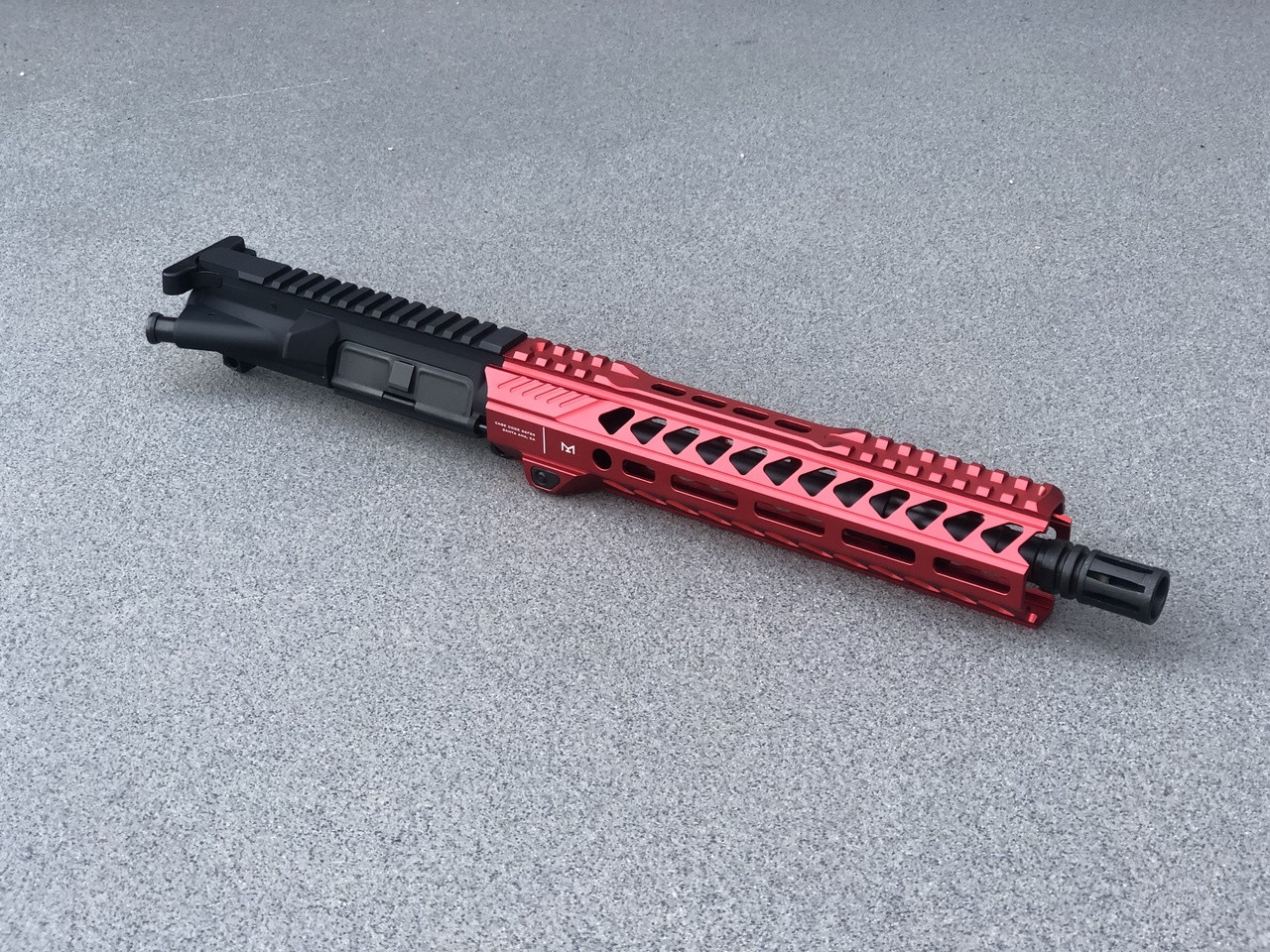 """MDX Arms Red Striker .223/556 Complete Upper Assembly - 10.5"""" Right"""