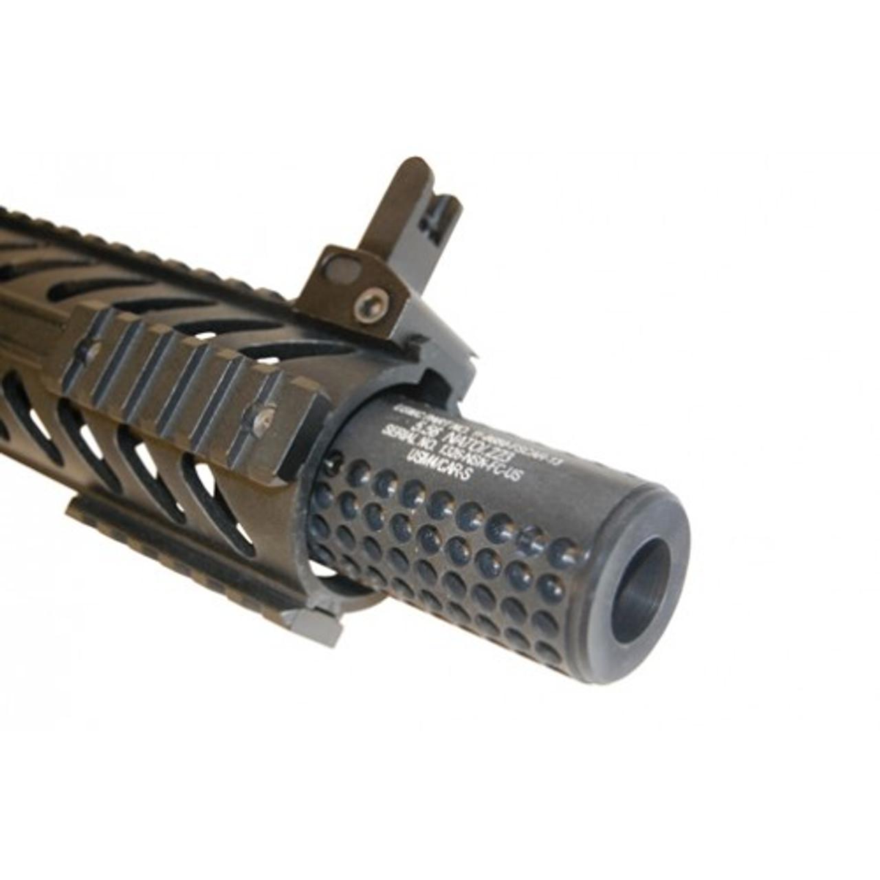 Guntec Reverse Thread Slip Over Dummy Socom Fake Suppressor Gen. 2 pix 1