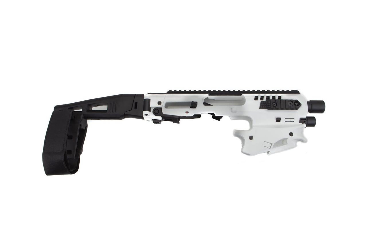 CAA Standard Micro MCK Stabilizer Conversion Kit for Glock 17,19,19X,22,23,31,32,G45 White