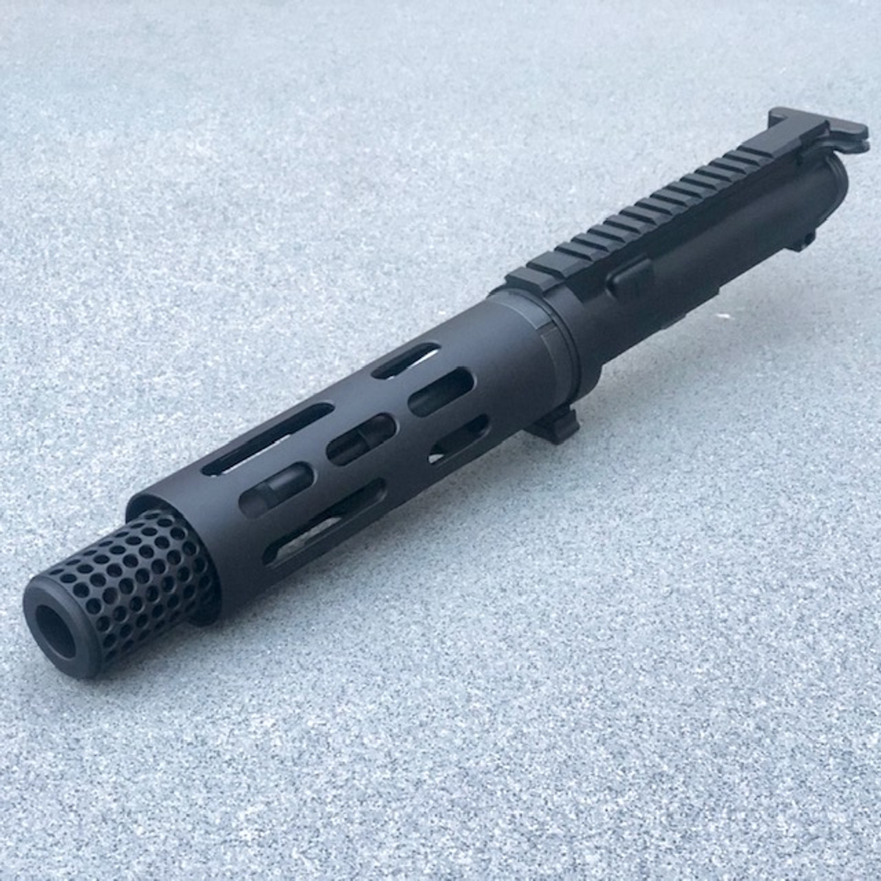 "MDX Arms 7.5""DOLOS QD Takedown Complete Upper with Smooth HG, Socom Dummy Suppressor Left Side"