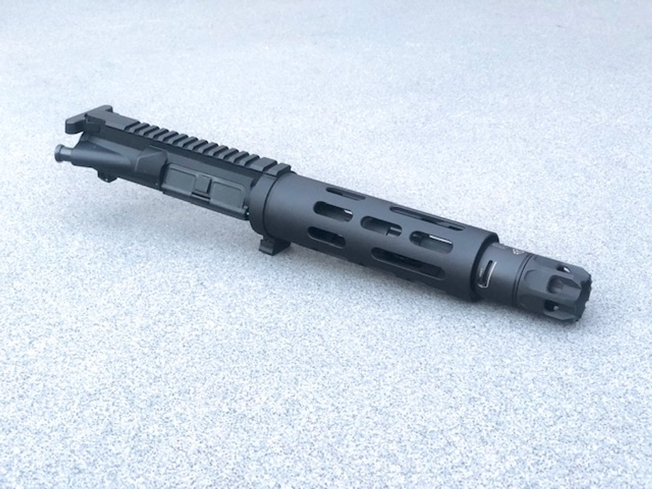 """MDX Arms 7.5""""DOLOS QD Takedown Complete Upper with Smooth HG, Strike Ind. JComp w/ Oppressor Right Side"""
